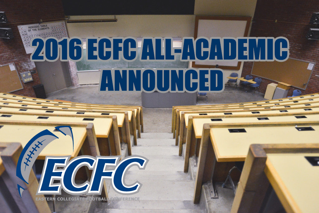 ECFC Announces 2016 All-Academic Team