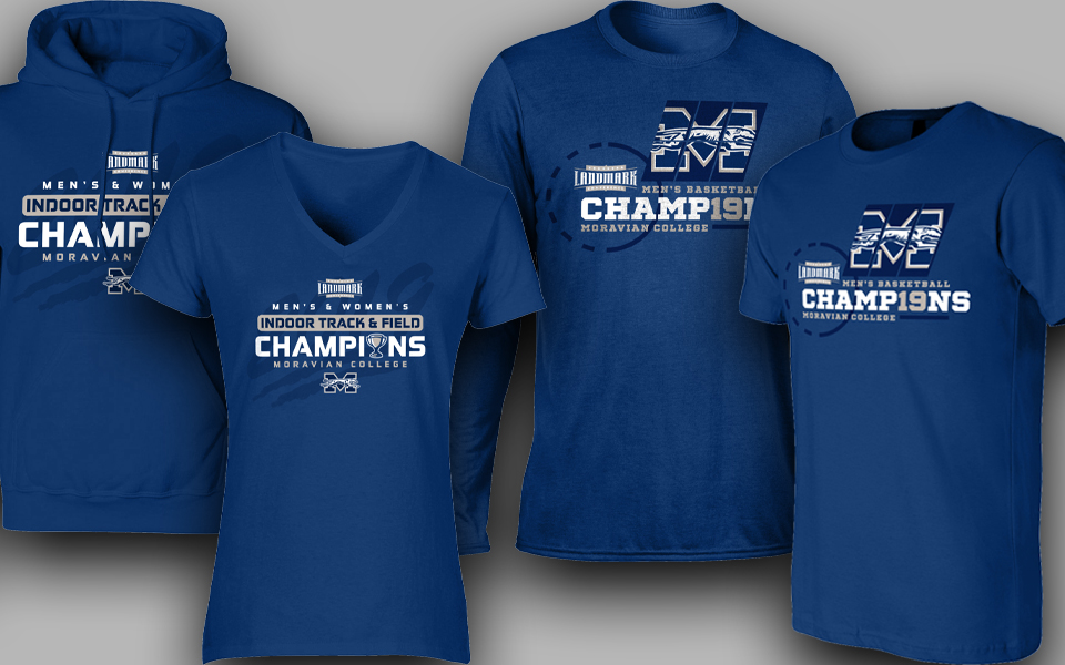Landmark Conference winter championships apparel.