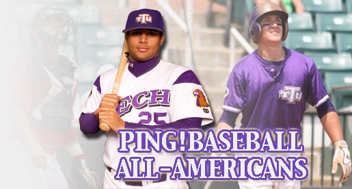 Oberacker and Kirby-Jones named Ping!Baseball All-America