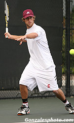 Santa Clara Men's Tennis Postponed Due To Weather With 1-0 Lead