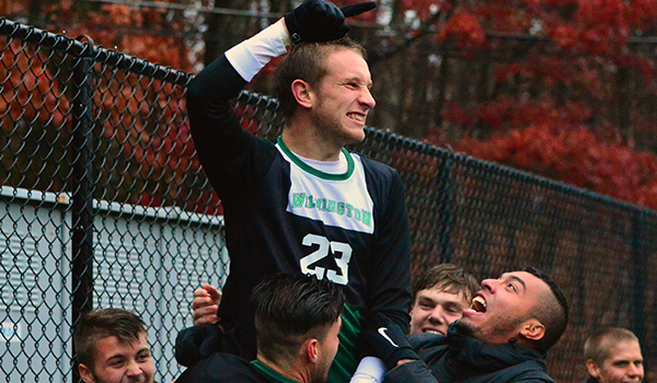 Lance Berry Finishes off Comeback as No. 6 Wilmington Advances to CACC Championship with 2-1 Double Overtime Victory against No. 2 Dominican