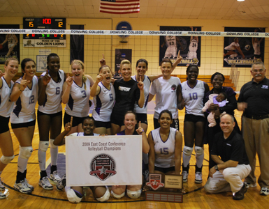 Bridgeport Claims ECC Volleyball Crown