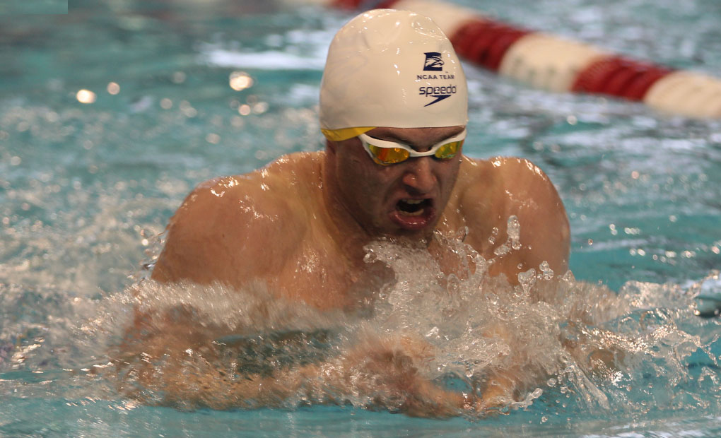 Gold Tops Blue, 144-138, in Emory Men's Swimming & Diving Intrasquad Meet