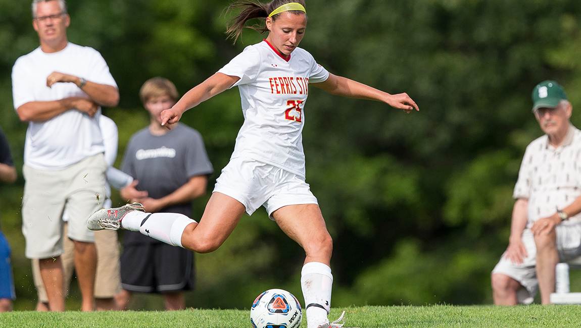 Ferris State Soccer Shuts Out Visiting St. Joseph's For First Victory Of 2016 Campaign