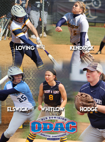 Five From Emory & Henry Named To All-ODAC Softball Teams