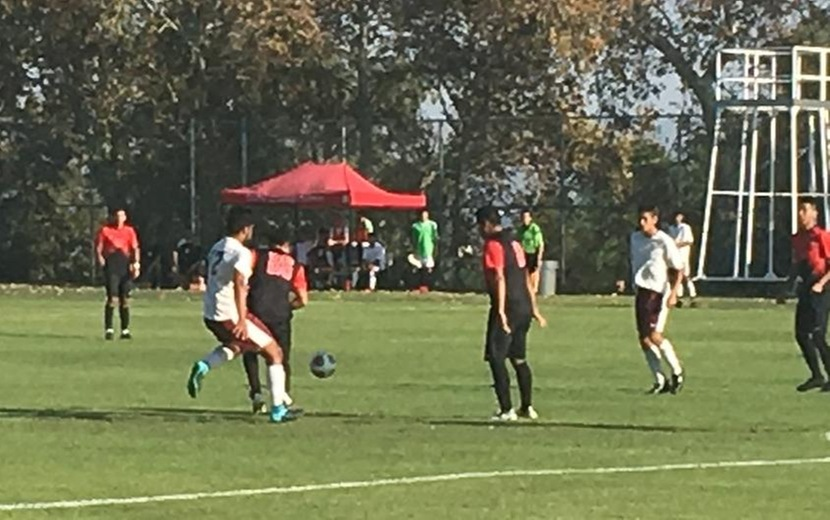 Men's Soccer game Chaffey vs Victor Valley at home September 6, 2017