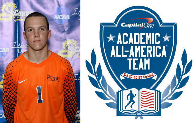 Coker's Sweeney Named to Capital One Academic All-American First Team