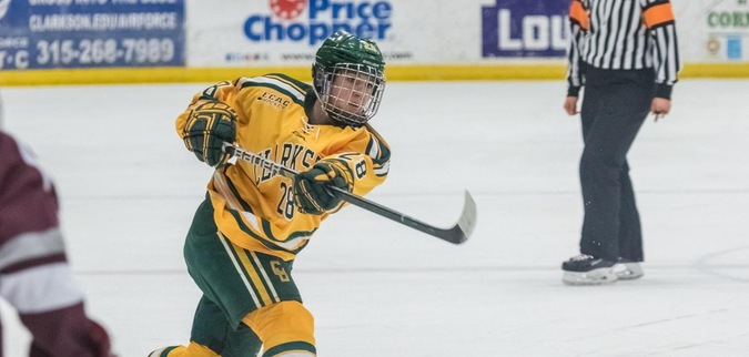 Clarkson completes weekend sweep of Bemidji State