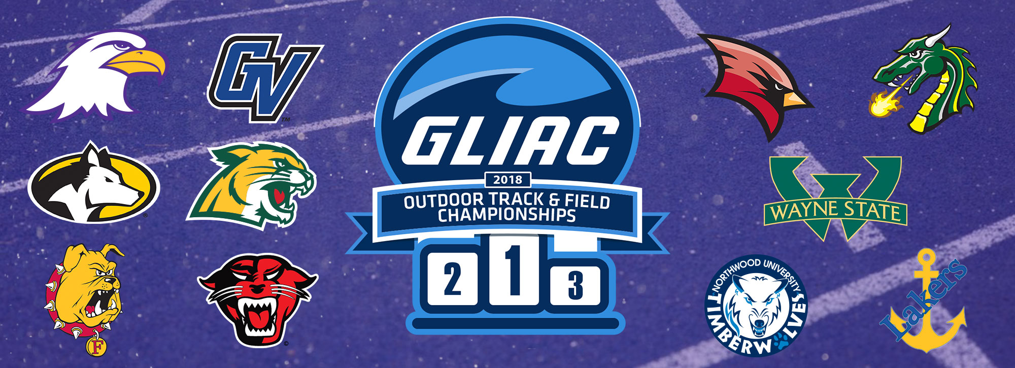 2018 GLIAC Outdoor Track & Field Championships Begin Wednesday in Ashland