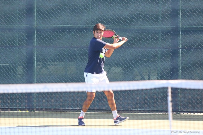 File Photo: Marcos Paulo Silvestre win his singles match in straight sets