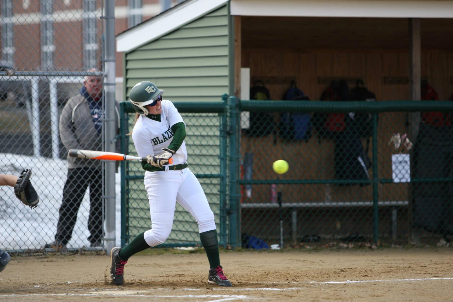 Softball Splits Season Opening Doubleheader
