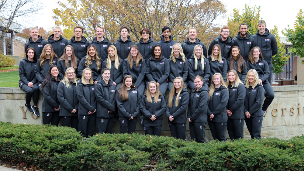 2019-20 Swimming and Diving Team