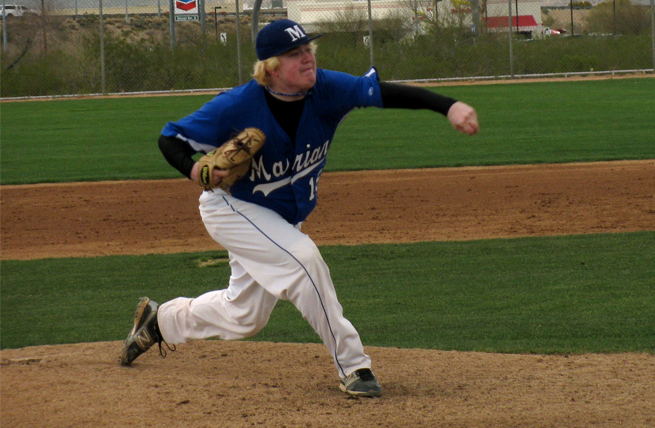Gellinger, Winfield Fuel Baseball Past Wesleyan