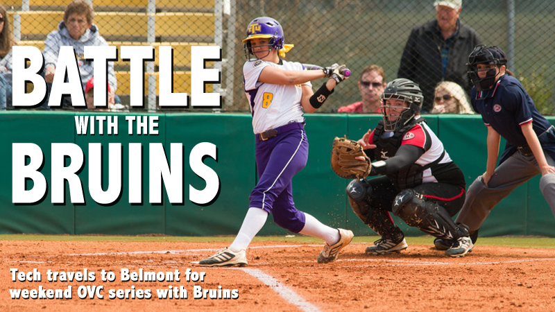 Softball travels to Belmont for OVC three-game set