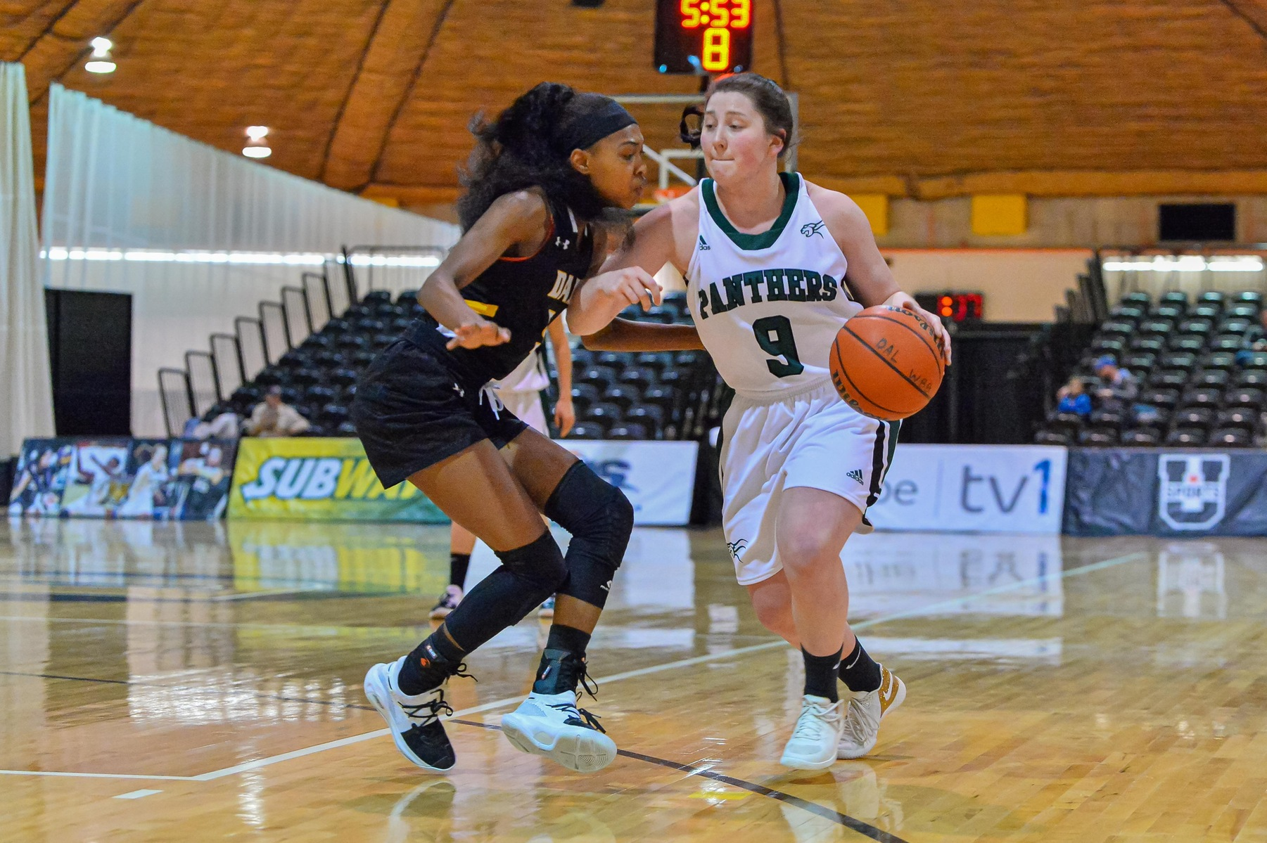 Panthers earn season sweep of Dalhousie in 72-62 win