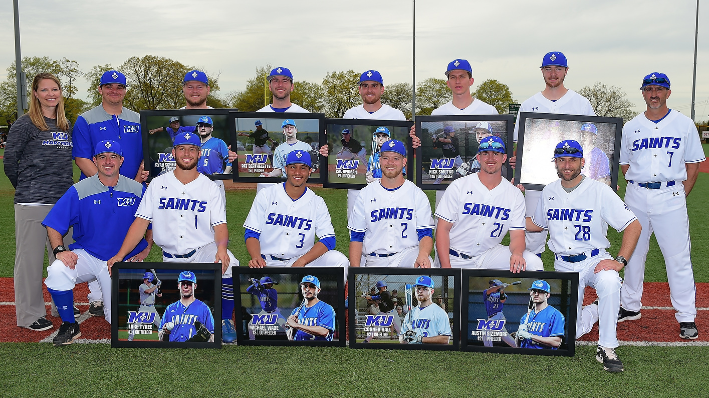 Wade's Two Homers, Tyree's Walk-Off Homer Highlight Senior Day Split Against Cabrini