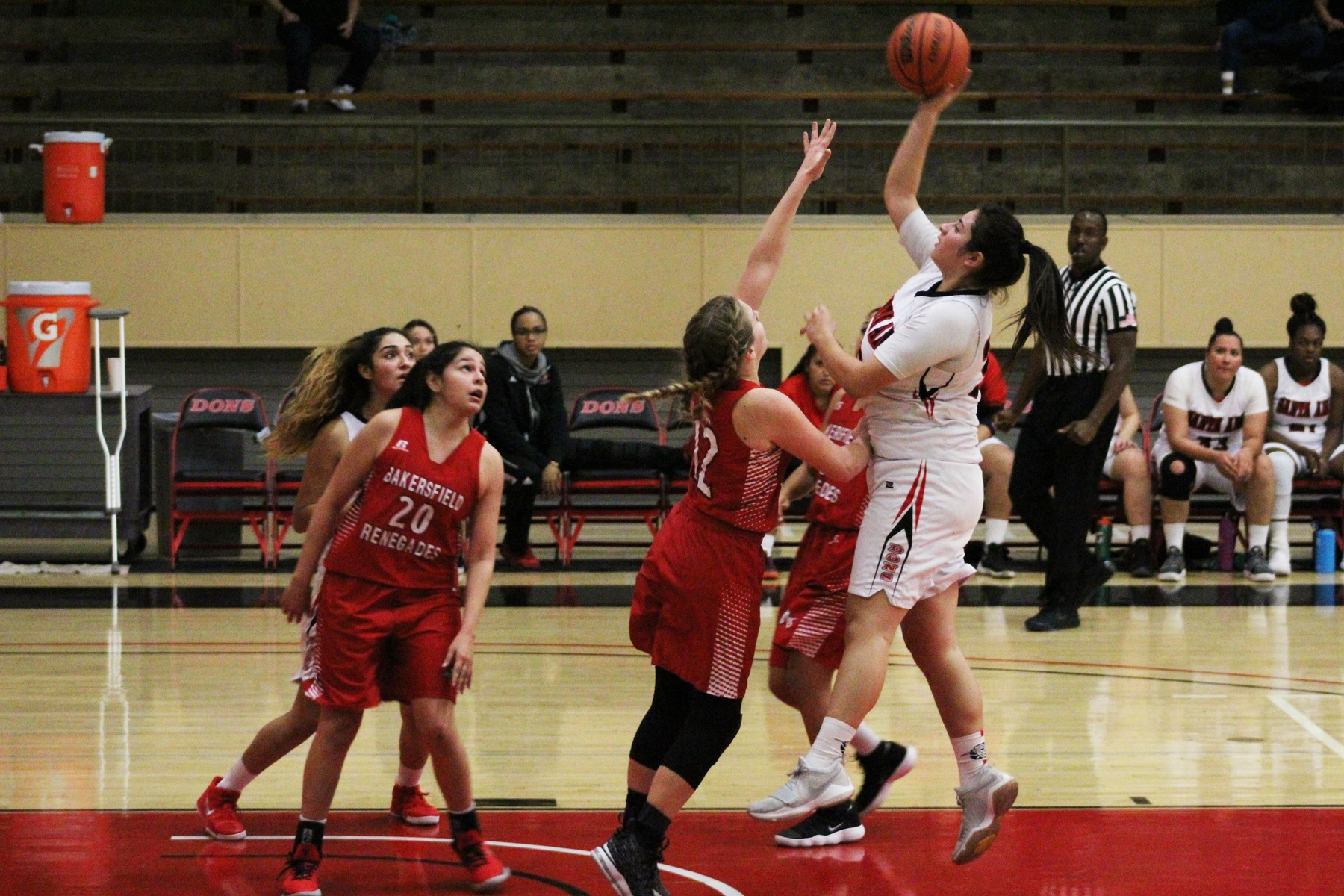 Dons Lose Nail Biter to Bakersfield in Third Matchup of the Year