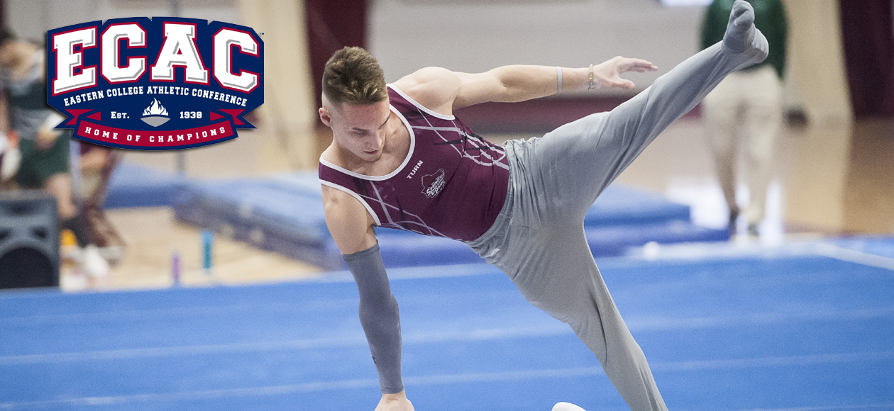 Graff Recognized With ECAC Men's Gymnast of the Week Honors