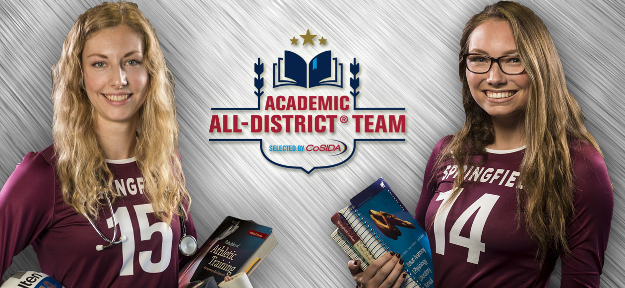 Holt and Mawdsley Repeat As CoSIDA Academic All-District Honorees