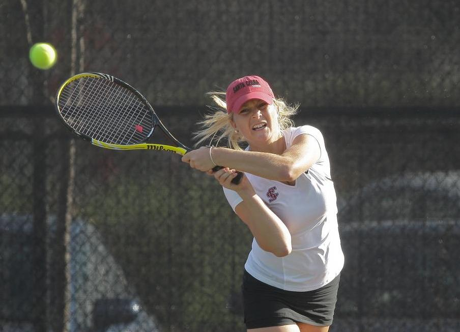Women's Tennis Results for Friday matches at Cal Invite