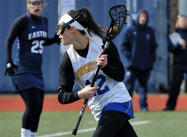 Worcester State Tops Mass. Maritime 19-3 on Senior Night