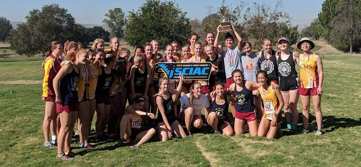 CMS Women's Cross Country Takes SCIAC Title For Ninth Straight Season