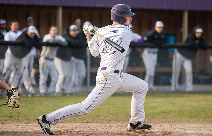 Baseball swept in NE10 road doubleheader at Bentley