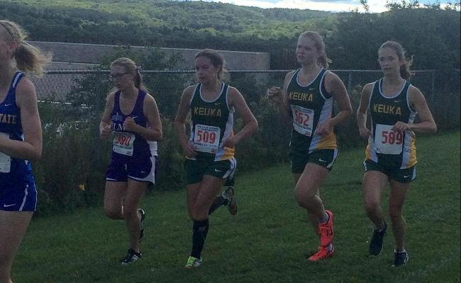 Women's Cross Country Finishes 9th at SUNY Poly