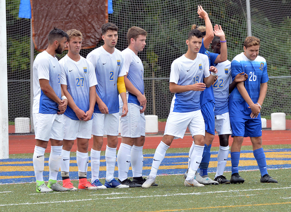 Men's Soccer Blanks Western New England