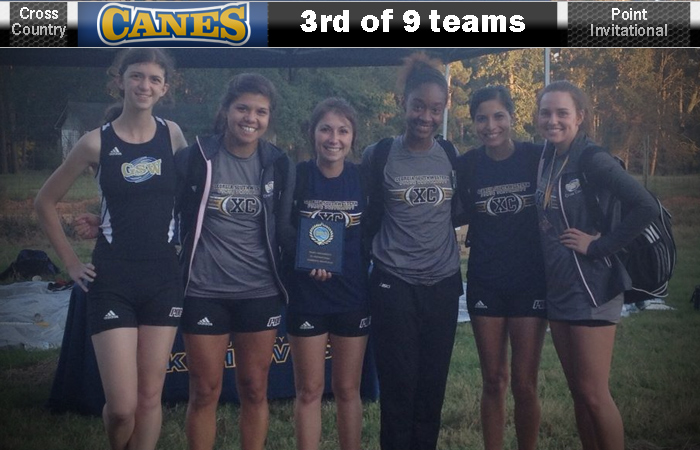 Third-Place Finish For GSW At Point Invite