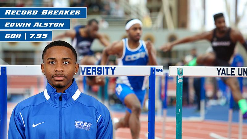 Alston Breaks Own School Record, Advances to Finals at Armory Invitational