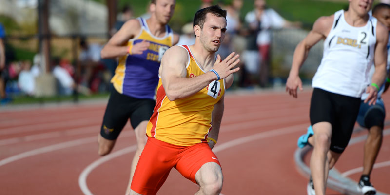Vogel wins 200, takes second in 100 as Storm close IIAC Championships