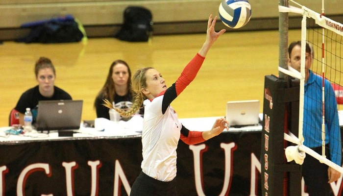 Volleyball opens season with 4-0 record at St. Vincent Tournament