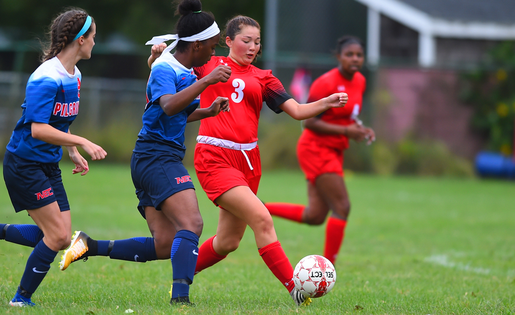 Women's Soccer Shut Out at Lesley
