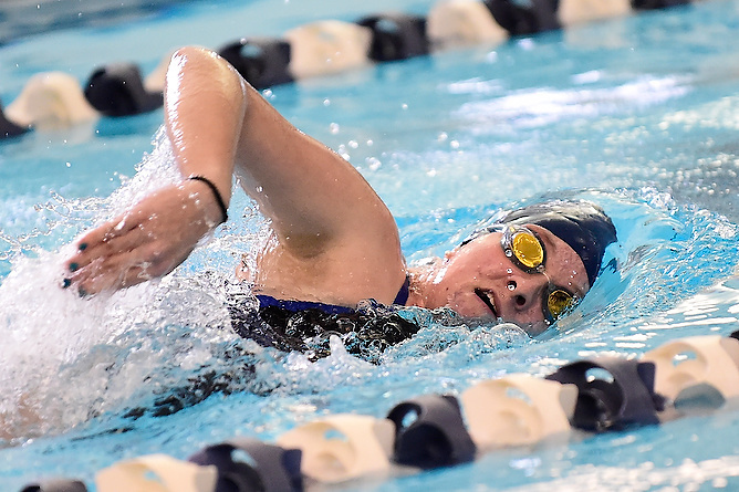 Women's Swimming Falls to Saint Vincent