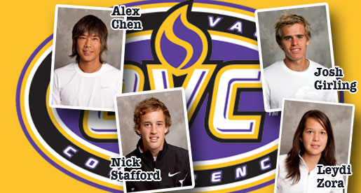 Stafford OVC Freshman of the Year, four earn all-OVC tennis honors