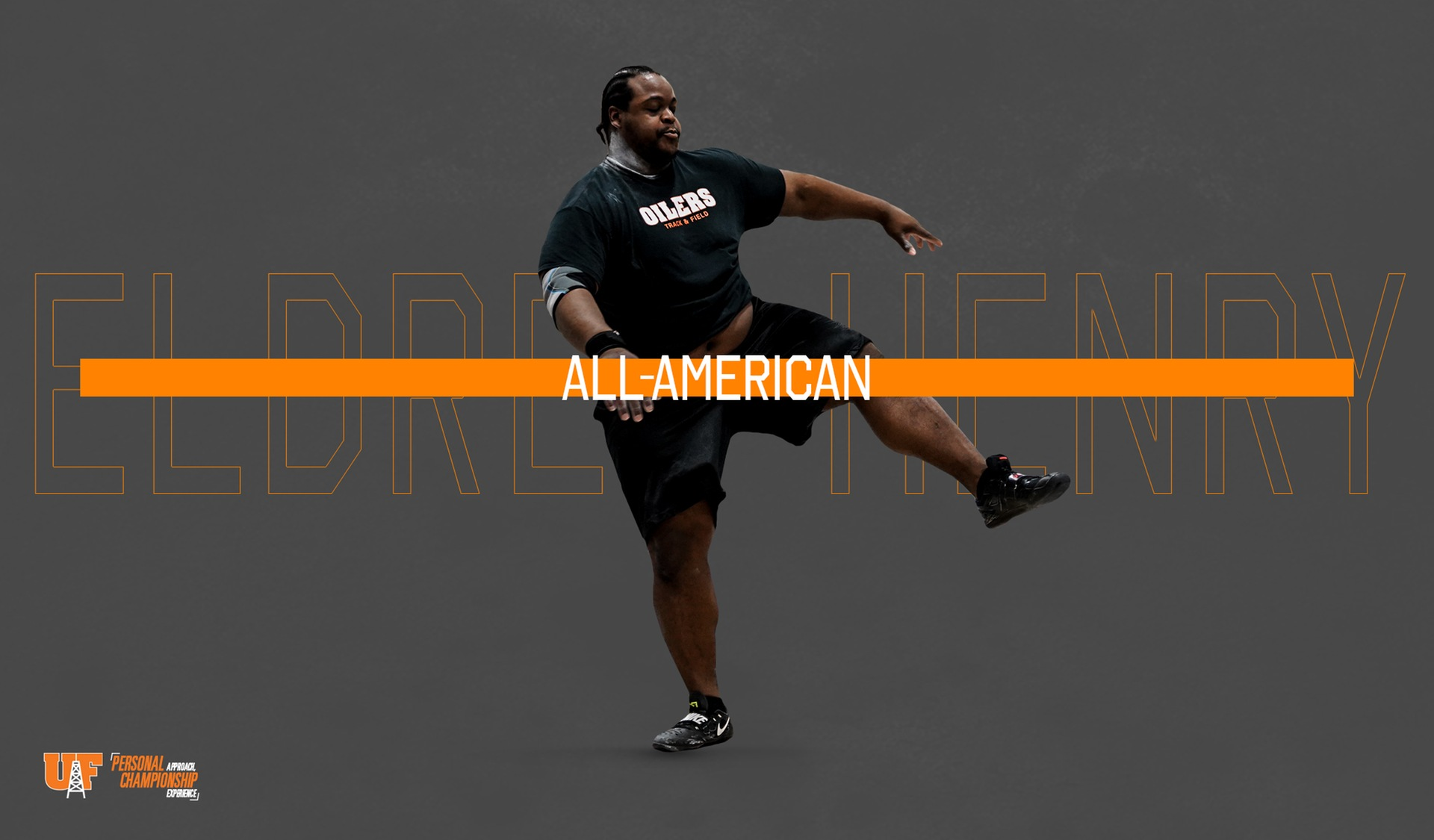 Henry Earns All-American Honors in Discus