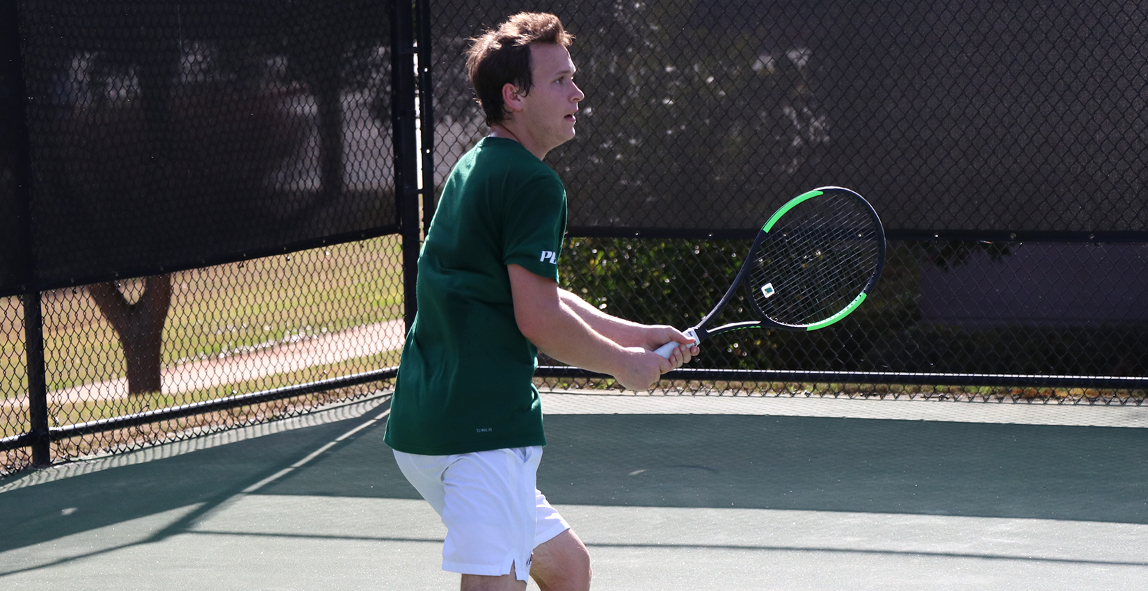 #19 Georgia College Men's Tennis Cruises Past Hurricanes, 7-0