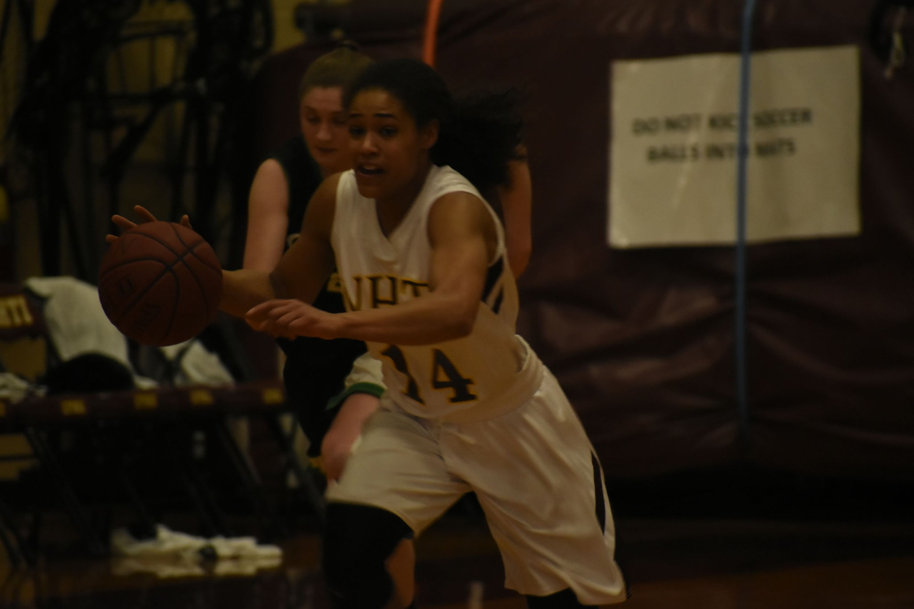 NHTI Women's Basketball Sink Clippers in YSCC First Round