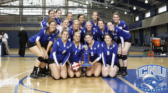 CNU Volleyball Picked to Capture Conference Crown