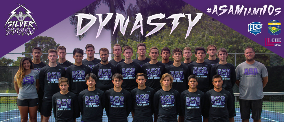 ASA Miami Tennis Wins Back-To-Back NJCAA Men's National Championships