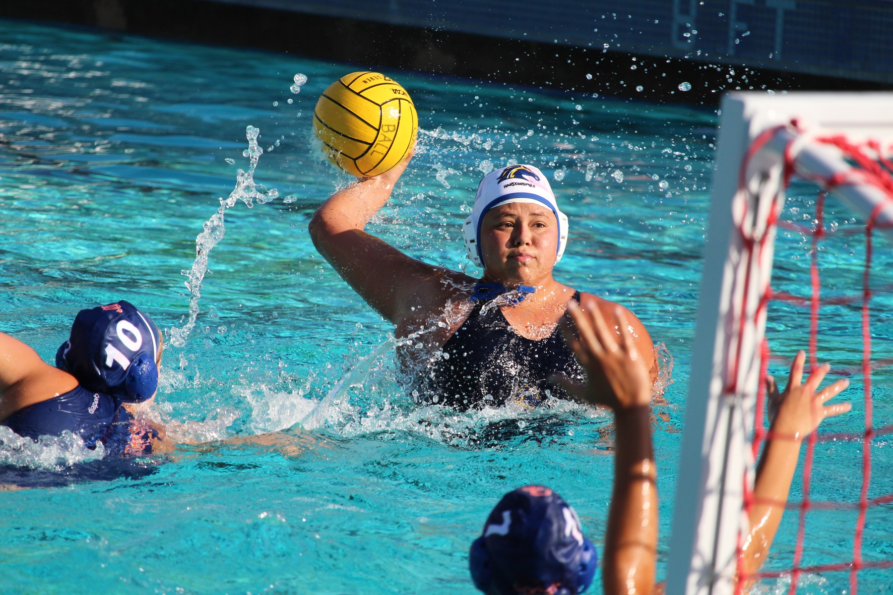 Women's Water Polo Splits Four in Battle of the Beach