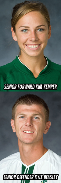 KYLE BEASLEY AND KIM KEMPER NAMED ESPN THE MAGAZINE FIRST TEAM ACADEMIC ALL-REGION