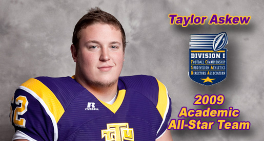 Askew named to FCS Academic All-Star team