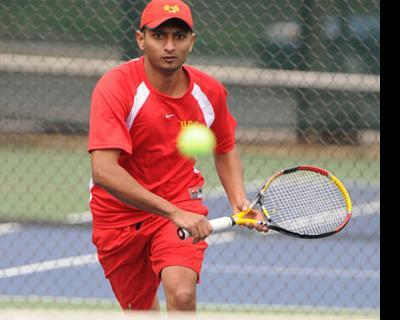 Senior Lalindra Jayatilleke soundly defeated his Dowling rival on Wednesday