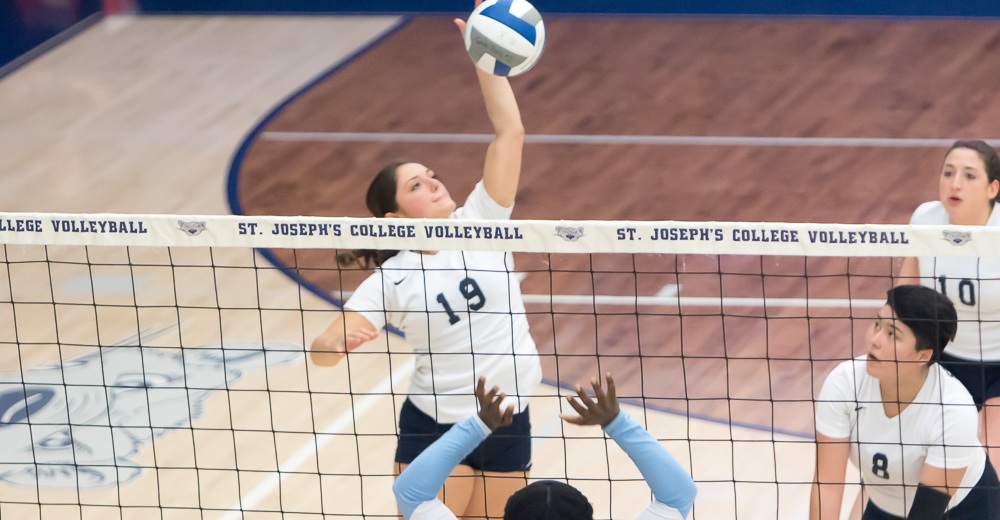 Women's Volleyball Caps .500 Campaign With Straight-Set Triumph Over Old Westbury
