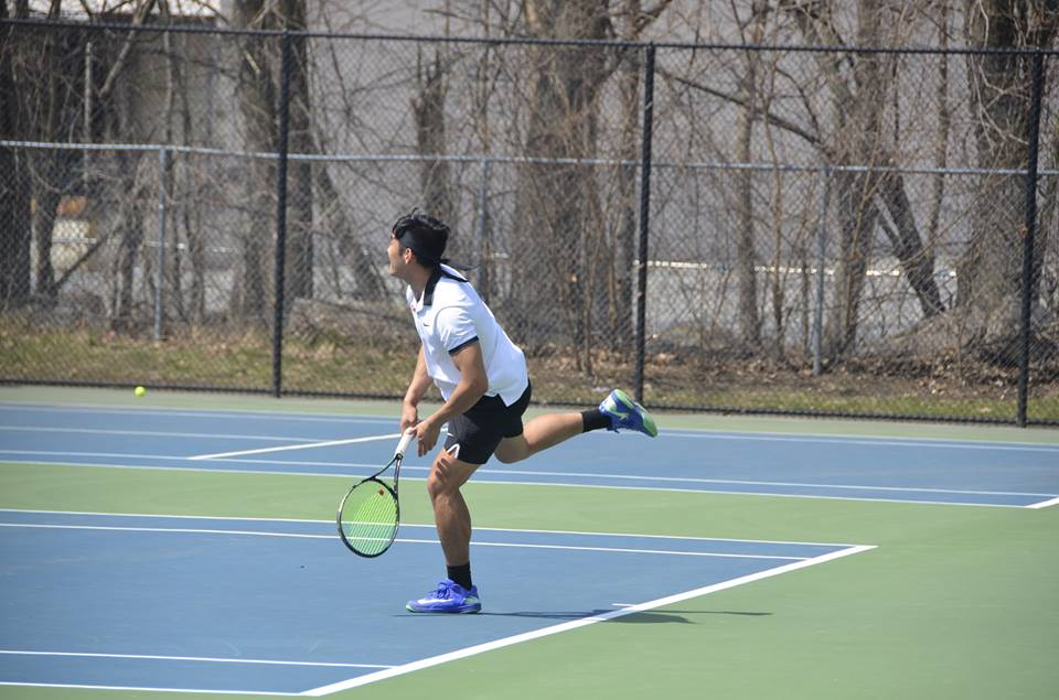 Men's Tennis Rolls to 8-1 Victory Against Roger Williams