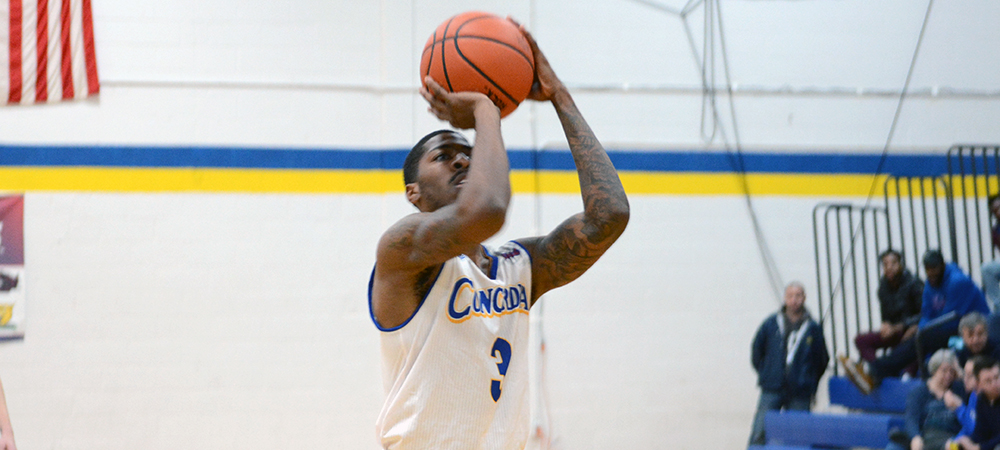 Concordia Men's Basketball Edges Nyack, 74-72, in CACC North Division Showdown