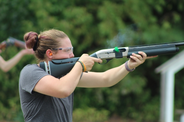 Sports Shooting opened their fall season on Saturday with two individuals shooting perfect scores.