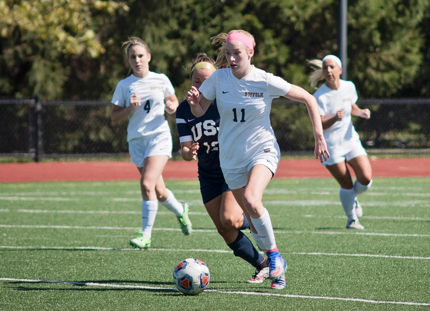 Women's Soccer Down Mount Ida 5-0 In GNAC Action